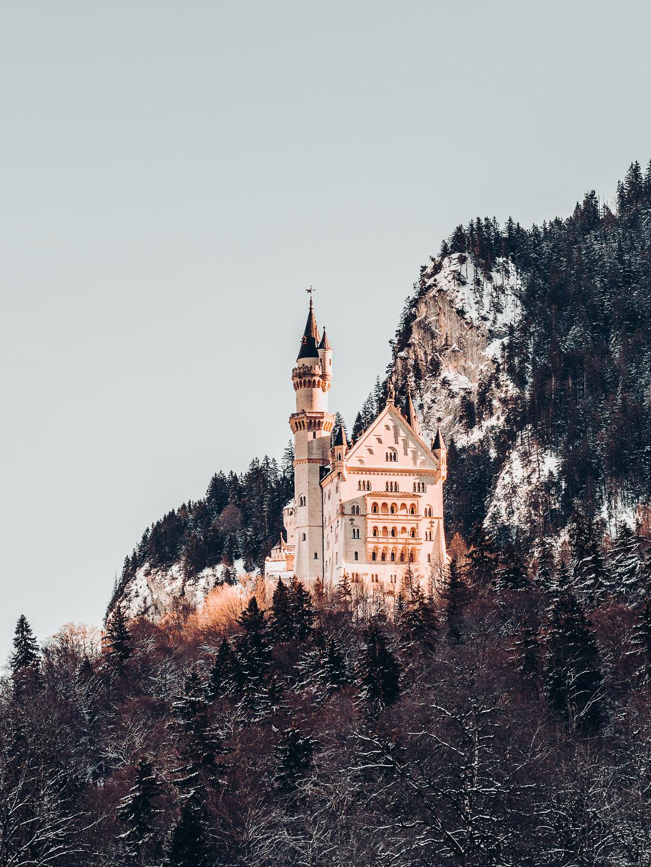 Austria, schloss neuschwanstein
