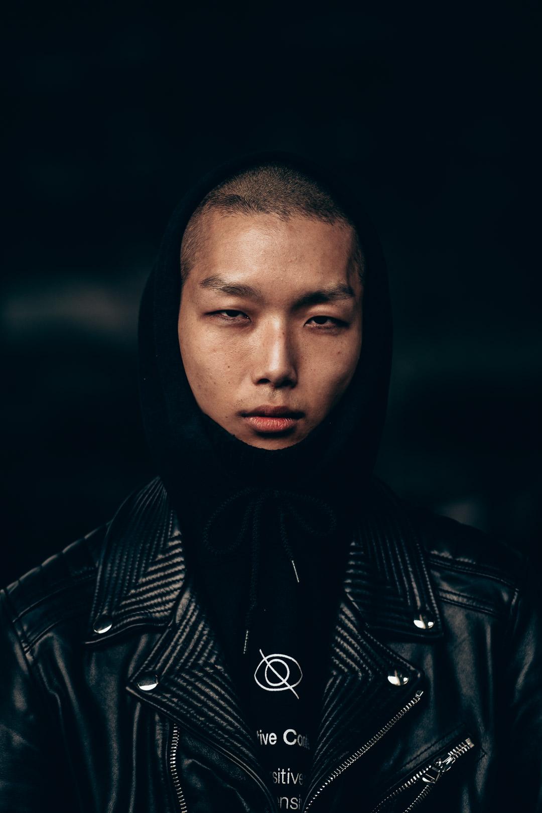 street style portrait photography at Paris Fashion Week