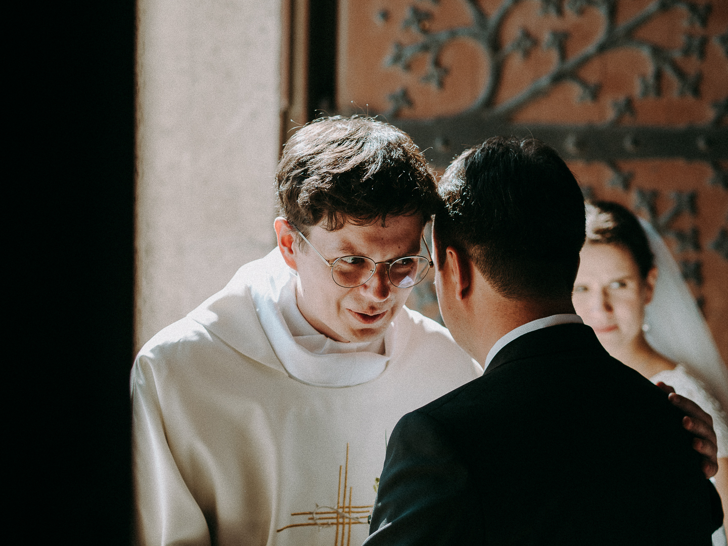 catholic wedding photo