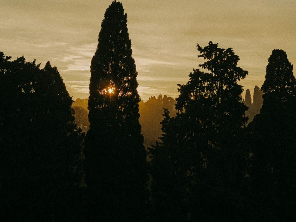 wonderful tuscany sunset